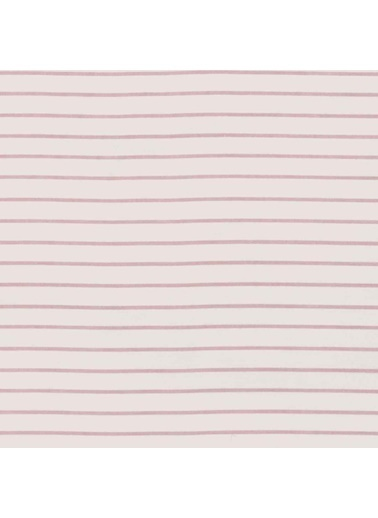 Hibboux 100x150 Candy Cane Bebek Nevresim + Yastık Kılıfı - Pink Pembe